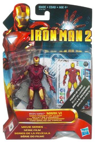 Hasbro Iron Man 2 Movie 4 Inch Action Figure Iron Man Mark VI