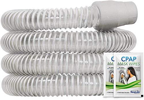 RespLabs CPAP Hose Replacement, Standard Tube 22mm, 6 Foot CPAP Tubing, Grey