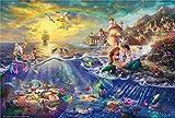 Lv5Panel Puzzles-Juego De Rompecabezas De Madera De 1000 Piezas Para Adultos Niños Puzzle Juguetes Decoración Del Hogar Paisaje La Sirenita Thomas&Regalos De Cumpleanos