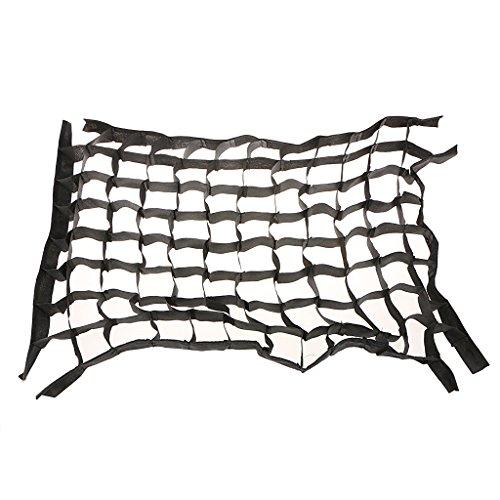B Blesiya Rejilla de Panal de Abeja Octogonal para Caja de Luz de Flash Tipo Paraguas de 120 Cm / 47', Color Negro