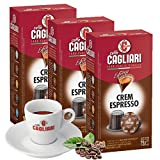 Caffé Cagliari | Crem Espresso | Traditional Italian Espresso | Full & Intense I Arabica & Robusta Bend |6 Pack-60 Pods | Nespresso Compatible Capsules | Family Owned Since 1909 I Imported from Italy