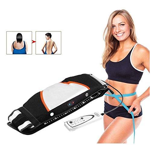 Big Shark Slimmerbelt elektrische vibrierende Massage Taillen-Trimmer abnimmt, Heizung Gürtel mit, Gewichtsverlust Fettverbrennung Auf Bauch Bauch-Bein-Feste Arm-Schulter-Rücken Nacken Ganzkörper
