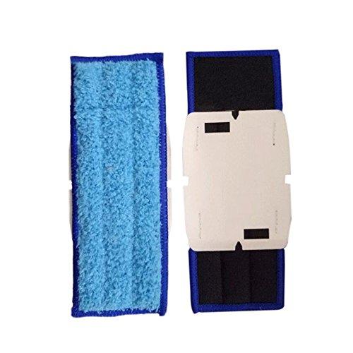 Xingsiyue Lingettes Balayage Coussinets pour iRobot Braava Jet 240/241-6 Pièces Remplacement Mopping Robot Lingettes Lavage des Sols Tapis de Vadrouille Kit (Bleu)