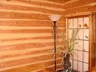 杉板 杉羽目板 節あり (木材 11×160×1985 10枚) 1束 本実めすかし加工