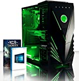 Foto Vibox Spark 7 PC da Gaming, Processore AMD FX 6350 Sei-Core, RAM 16GB, HDD da 1TB, Scheda Grafica NVidia GeForce GTX 960 da 2GB, Verde