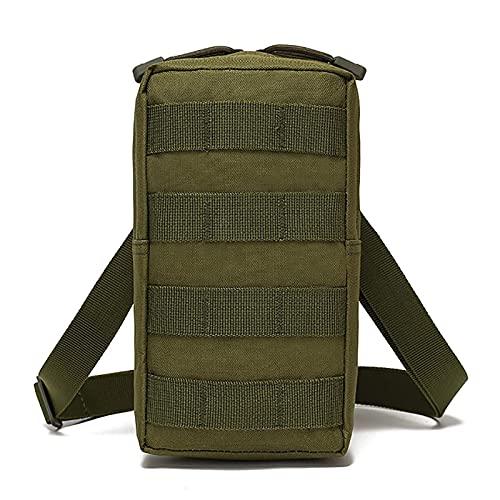 Adesign Mochila de Senderismo Resistencia al Agua Trekking Mochila para Hombres para Hombres Paquete de Viaje al Aire Libre Daypack out Carry Bag Bolsa de Transporte (Color : Green)