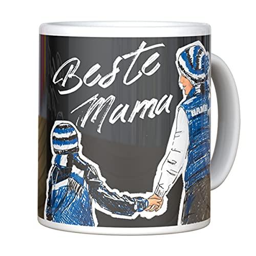 Hamburger SV HSV Tasse Becher Kaffeetasse BESTE MAMA schwarz, 30181