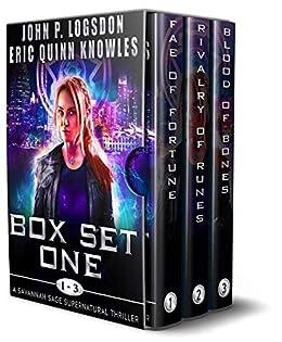 Savannah Sage Supernatural Thriller Box Set (Books 1 - 3) (Seattle Paranormal Police Department Box Sets) by [John P. Logsdon, Eric Quinn Knowles]