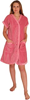 Women's Chenille Robe Knee Length Cotton Blend