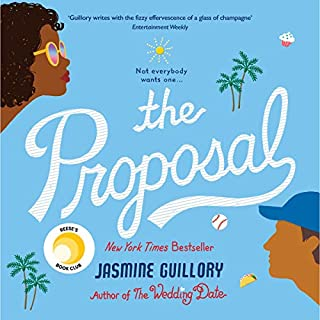 The Proposal                   By:                                                                                                                                 Jasmine Guillory                               Narrated by:                                                                                                                                 Janina Edwards                      Length: 8 hrs and 58 mins     12 ratings     Overall 3.1