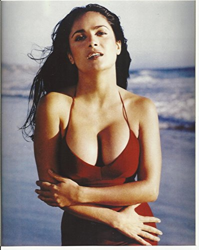 Salma Hayek 8x10 Photo - No Image is Cropped. No white or black borders, What you see is what you get. #SH013
