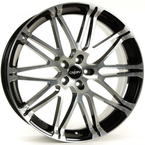 OXIGIN 14 Oxrock black full polish 11x20 ET 50  5x130.00 Hub Bore 71.60 Alu felgen