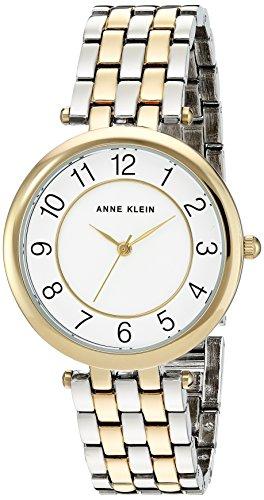 Anne Klein Women's Easy To Read Dial Two-Tone Bracelet Watch