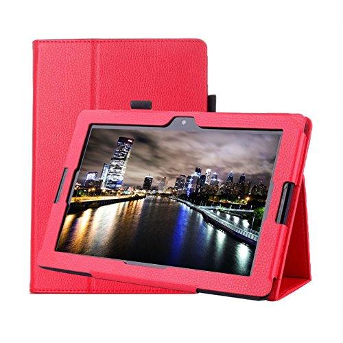 Copertura per Lenovo Tab 310Pro Business A10–70tb3-x70F/L pollice Smart Slim case Book cover stand Flip rosso red