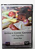 Daniel Keys: Antique Coffee Grinder with Vegetables
