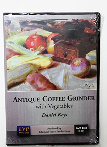 Daniel Keys: Antique Coffee Grinder with Vegetables