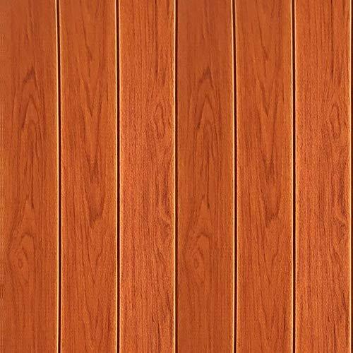 ZR Stereo-Wandaufkleber des Holzkorns 3D Fernsehhintergrundrocktapete Wohnzimmer-Tapete wasserdichtes Wanddekorationschlafzimmer (Farbe : D)