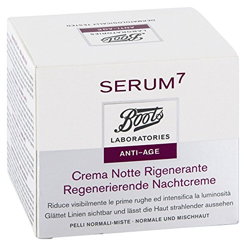 boots lab serum7 regener.nachtcreme normale haut 50 ml