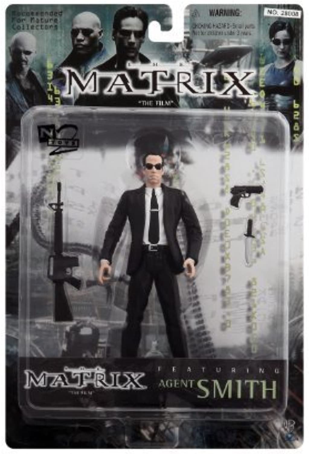 The Matrix - Agent Smith 6  Action Figure by N2 Toys