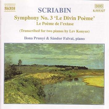 SCRIABIN: Symphony No. 3 / Le Poeme de l'extase (Piano Transcriptions)