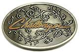AGCO Challenger Gürtelschnalle - Western Stil Design - Authentische Offiziell Lizenziertes Produkt - Im Sammler Edition Box - Spec Cast Sammelbar