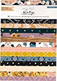 Crate Paper Papel 6X8, Maggie Holmes Heritage W/Gold Foil, talla única