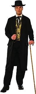 Men's Western Hustler Bar Gambler Swindler Outlaw Costume