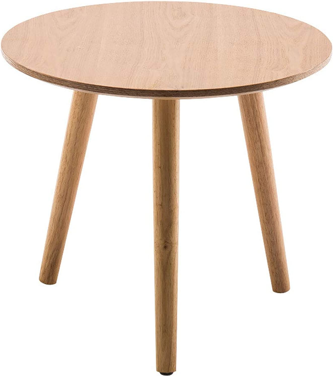 T-Day End Tables Bedside Table Side Table Nordic Wood Fashion Simple Small Coffee Table Rounded Small Apartment Modern Coffee Table