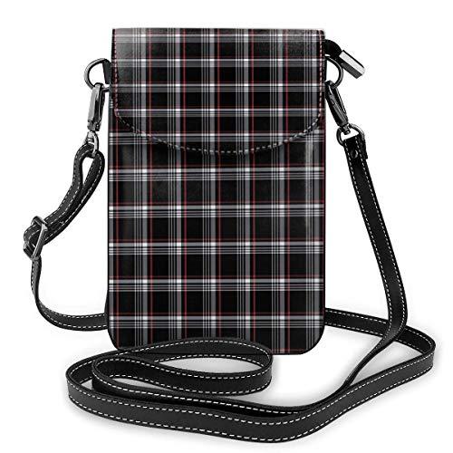 alemon Handy-Geldbeutel-kleine Crossbody Golf Gti Plaid-Geldbörsen-Taschen mit justierbaren Schultergurt-Frauen