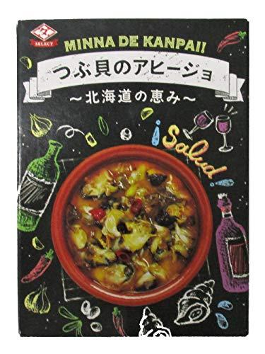 田原缶詰 つぶ貝のアヒージョ ~北海道の恵み~ EO缶 80g ×4個
