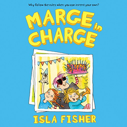 Marge in Charge audiobook cover art