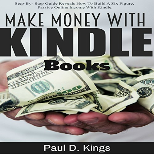 Make Money with Kindle Books audiobook cover art
