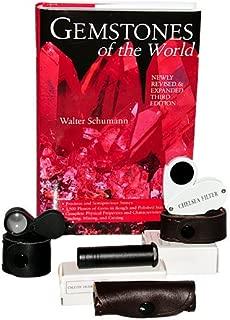Chelsea Filter, Dichroscope, Jewelers Loupe - Gem Identification Tools Bundle - 4 items