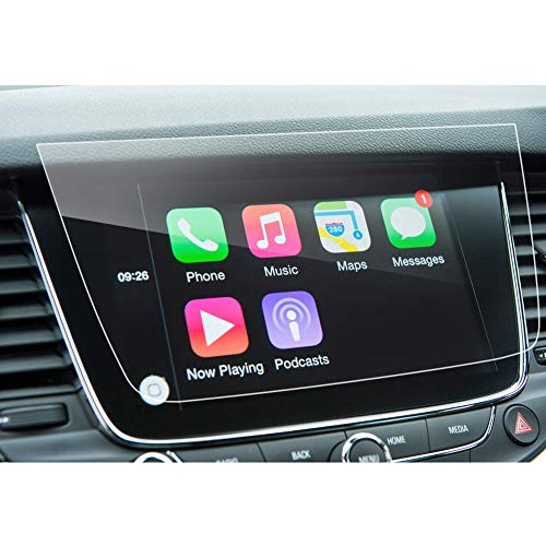 LFOTPP Astra Crossland X Grandland X 8 Pulgadas Protector Pantalla Navegación, GPS Radio Cristal Templado Coche Interior Accesorios