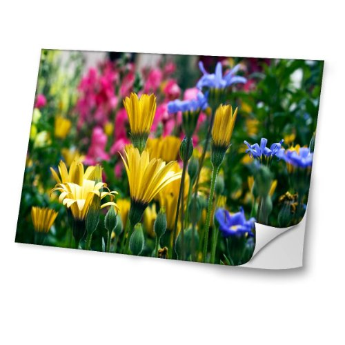 Collection 15 - stickers voor laptop in verschillende maten - Flowers 10030 14