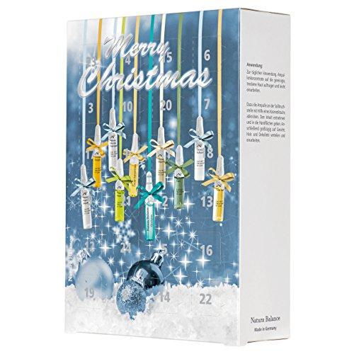 2 Stück 2020 Adventskalender Weihnachten Beauty 24 Ampullen Hyaluron 8 Sorten Serum Kalender Hyaluronsäure Aloe Vera Collagen Augenserum Power Lift Caviar Kosmetik