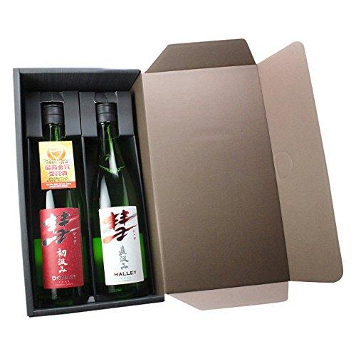 彗 -シャア- 720ml×2本セット 純米吟醸 純米酒 各1本 日本酒 酒 飲み比べ ギフト 贈物 紅白ラベル