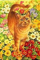 1000ピース花の猫子供のためのジグソーパズルジグソーパズル大規模なパズルゲーム