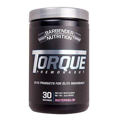 Barbender Nutrition Torque Preworkout Powder