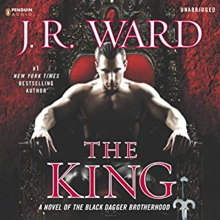 The King     A Novel of the Black Dagger Brotherhood              Written by:                                                                                                                                 J. R. Ward                               Narrated by:                                                                                                                                 Jim Frangione                      Length: 22 hrs and 4 mins     11 ratings     Overall 4.7