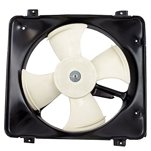 condenser cooling fan civic - 6