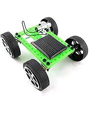 VGEBY DIY zasilana energią słoneczną zabawka samochodowa, dzieci mini energia słońce model samochodu DIY naukowy montaż zabawka