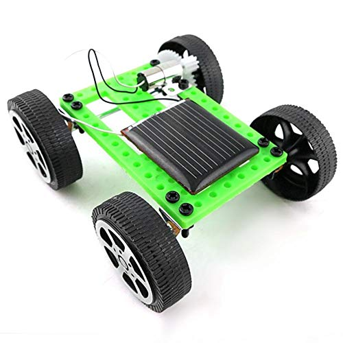 VGEBY DIY Solar Power Auto Spielzeug, Kinder Mini Sun Power Auto Modell DIY Scientific Assembly Spielzeug
