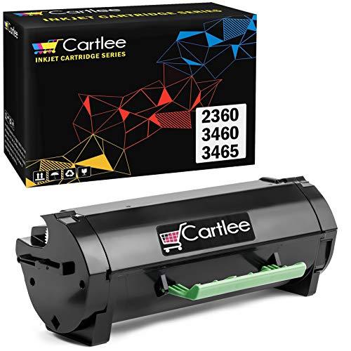 Cartlee 1 Remanufactured High Yield Laser Toner Cartridges Replacement for Dell B2360 B3460 B3465 B2360d B2360dn B3460dn B3465dn B3465dnf 2360 3460 3465 2360d 2360dn 3460dn 3465dn M11XH Printer
