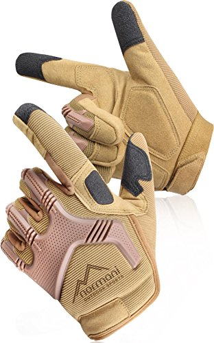 normani Tactical Paintballhandschuhe Army Gloves Specialist Farbe Coyote Größe XL