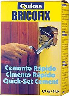 Quilosa T088195 Bricofix Cemento Rápido
