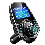 Mpow Trasmettitore FM Bluetooth, FM Trasmettitore per Auto Radio Adattatori Vivavoce...