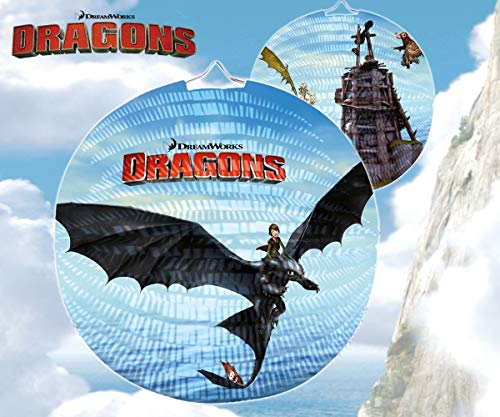 Happy People 13069 - DreamWorks Dragons Laterne, 25 cm