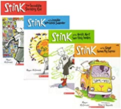 Stink: Book Set 1 [Books 1-4] (#1 The Incredible Shrinking Kid, #2 The Incredible Super-Galactic Jawbreaker, #3 The World'...