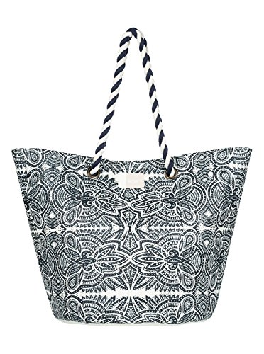 Roxy Sunseeker J Tote Bolsa de tela y de playa, 45 cm, Azul
